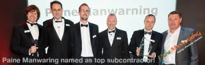 PAINE MANWARING NAMED AS TOP SUBCONTRACTOR!