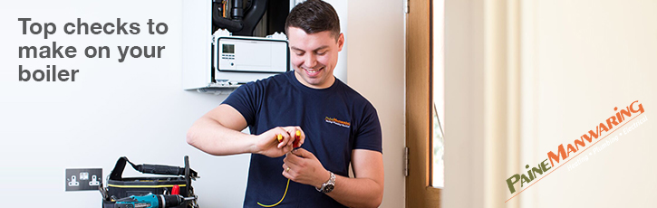 Top checks to make on your boiler