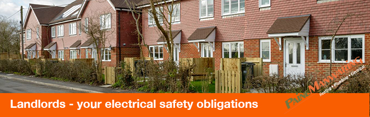 Landlords – your electrical safety obligations