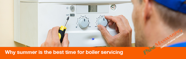 Why summer is the best time for boiler servicing