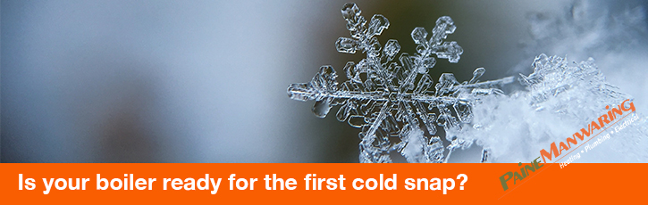 Is your boiler ready for the first cold snap?