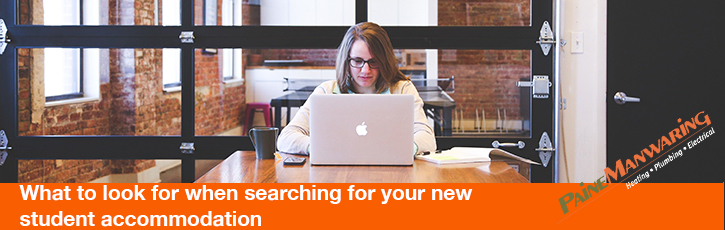 What to look for when searching for your new student accommodation
