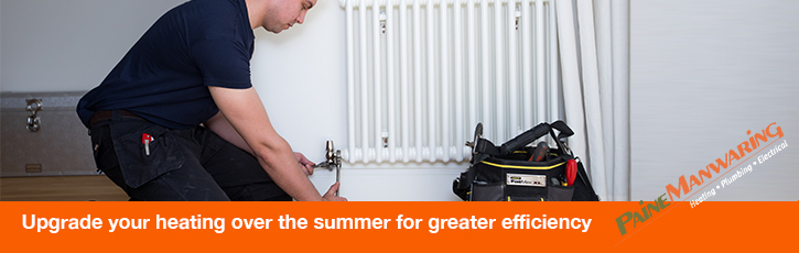 Upgrade your heating over the summer for greater efficiency