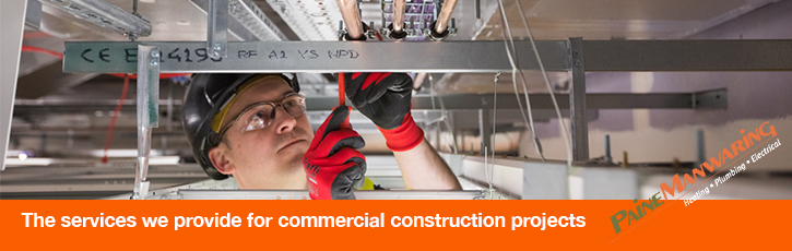 The services we provide for commercial construction projects